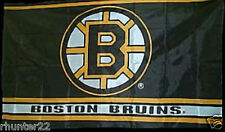 Huge 3' x 5' Boston Bruins Licensed NHL Flag - Free Shipping