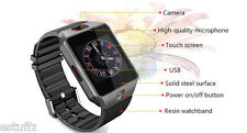 Bluetooth Smart Watch Phone Built in GSM Sim+Card Slot Support Android iOS Phone