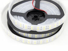 NEW Wholesale 12V 5M 5050/3528 SMD Double Row 600/1200 LED Flexible Strip Lights