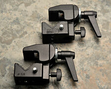 Lot Two (2) Black Manfrotto 035 Super Clamps (#1935)