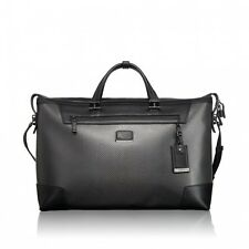 Tumi CFX Carbon Fiber Adelaide Soft Duffel w/ Leather Trim 35148 NEW With Tags
