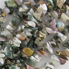 "10-14mm ocean jasper chip nugget beads 15"" strand"