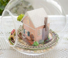 DIY  Miniature Dollhouse in Mini Glass Ball,  (B-008), Pandora magic garden