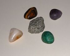 Money Attraction Prosperity Wealth Stones Pyrite Citrine Jade Amethyst Tiger Eye