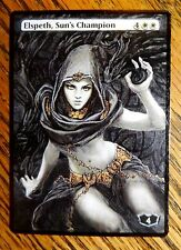 Magic the Gathering MTG altered art Elspeth, Sun's Champion