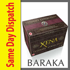 """Xena Warrior Princess - The Ultimate Collection1,2,3,4,5,6 DVD Box Set """"sale"""""""