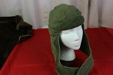 US Army Military Insulated OD green  Liner Cap Hat Head Cover Vietnam