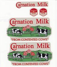 TONKA CARNATION MILK DECAL SET