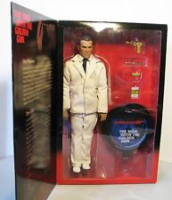 "James Bond SIDESHOW Christopher Lee SCARAMANGA 12"" Figure in Box 1:6 Scale 007"