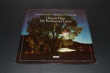 The Mormon Tabernacle Choir~I Know That My Redeemer Lives~Covenant~FAST SHIPPING