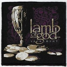 LAMB OF GOD PATCH / SPEED-THRASH-BLACK-DEATH METAL