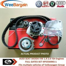 AUDI A3 A4 VW Golf Passat 1.9 2.0 TDI 8v KP55569XS-1 Timing Belt Kit Water Pump