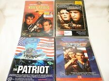 "WAR MOVIES BULK PACK 4 DVD'S ALL PAL ""PREOWNED"" AUZ SELLER P32"