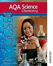 New AQA Science GCSE Chemistry Revision Guide by John Scottow (Paperback, 2011)
