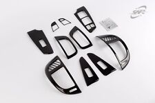 SAFE Carbon Interior Molding Kit 10ea 1Set K226 For KIA Forte 4D 5D 2009 2013