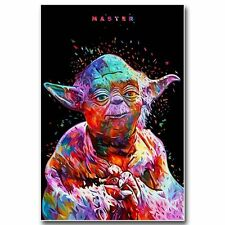 Star Wars 7 Force Awakens Movie MASTER Art Silk Poster Wall Decor 24x36 inch