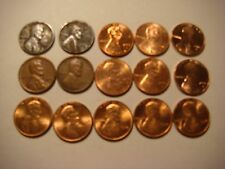 Lot of 15  nice old   Lincoln U.S cent Coins  #9650