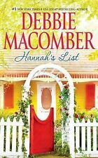 Blossom Street: Hannah's List 7 by Debbie Macomber (2016, CD, Unabridged)