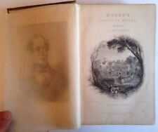 1843 The Poetical Works of Thomas Moore Complete in One Volume