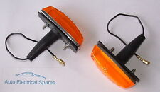amber side repeater flasher lamp replaces Lucas L734 x 2 for AUSTIN MORRIS MINI
