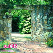 Spring 8'x8' Computer-painted  Outdoor Scenic Photo background backdrop SU842B88