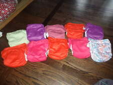 LOT 10 BUM GENIUS CLOTH DIAPERS GIRLS SNAP FREETIME ALL IN 1