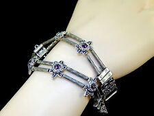 Vintage Bali Balinese Indonesia Solid 925 Sterling Silver Chain Bracelet REPAIR
