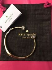 NEW WITH TAG Kate Spade Lady Marmalade Bangle Bracelet And Dust Bag Pouch