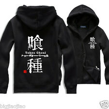 Anime Tokyo Ghoul Cosplay Costume Hoodie Sweater Jacket Men Casual Coat Tops