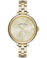 NEW Marc Jacobs Women's Sally Gold Tone Stainless Steel Watch MBM3363