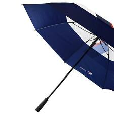 "BMW Motorsports M-Power  White/Blue 31"" Double Layer Umbrella"