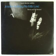 "12"" MAXI-Jennifer Holliday-No Frills Love (Remix and dub version) - c1477"