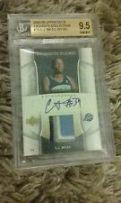 c.j. miles exquisite collection rookie auto card jersey patch nba basketball