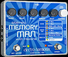 EHX Electro Harmonix MEMORY MAN with HAZARAI Guitar Effects Pedal