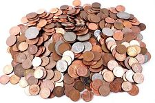 Lot of 10 UK England Great Britain Coins Pound Penny Shilling Pence