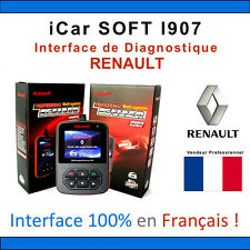 Valise Diagnostique RENAULT & DACIA - iCar SOFT I907 - CAN CLIP - OBD2