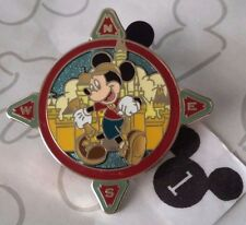 Mickey Mouse & Castle Mickey's Pin Odyssey 2008 Starter Disneyland Disney Pin