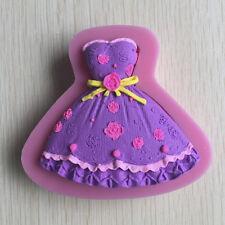 Brautkleid Silikon-Kuchen-Kuchen, Schokolade Craft-Form-Werkzeug Cupcake Tools