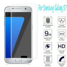 For Samsung Galaxy S7 Tempered Glass Film 9H Clear Full Coverage Protector Film