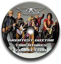 AEROSMITH ROCK GUITAR TABS TABLATURE SONG BOOK ANTHOLOGY SOFTWARE CD