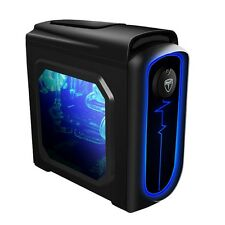 AvP Pulse Black Midi Tower Gaming PC Case - USB 3.0 with LED light system