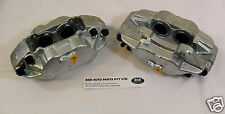 LAND ROVER DEFENDER 110 NEW FRONT BRAKE CALIPERS -PAIR SOLID DISCS RTC5572-3