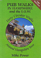 Pub Walks in Hampshire and the I.O.W., Power, Mike, Good Condition Book, ISBN 97