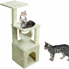"""36"""" Deluxe Cat Tree Condo Furniture Scratching Post Kitten Pet Play W/Toy House"""