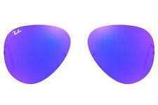 LENTI RICAMBIO RAY BAN 3138 58 68 SHOOTER BLUE MIRROR LENSES BLU OCULOS