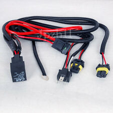 Car HID Xenon Headligh H4-2 Bulbs Relay Fuse Cable Wiring Harness 35W/55W JUK