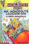My First Games Reader: Mr. Monopoly's Amusement Park : A Math Adventure by...