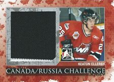 (HCW) 2007-08 ITG Heroes and Prospects KEATON ELLERBY /50 Canada & Russia Jersey