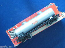 """JOUEF HO-Wagon citerne a bogies """"SHELL"""" SNCF Ref 651"""