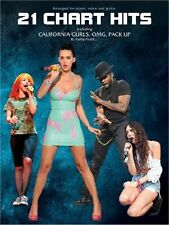 21 Chart Hits Learn to Play KATY PERRY USHER Pop PIANO Guitar PVG Music Book